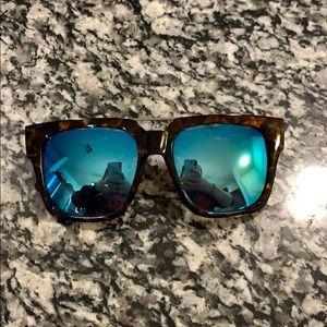 QUAY x Chrisspy Mila Oversized Sunglasses